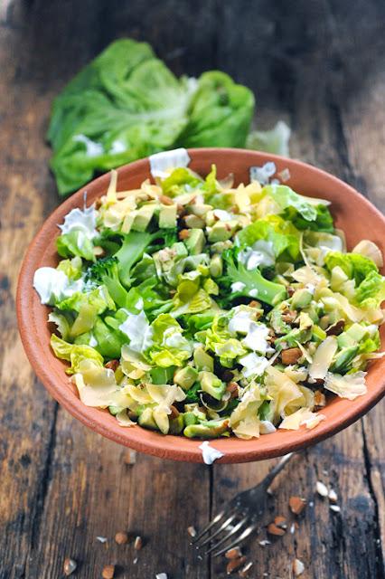 Salade de laitue toute verte parce que les laitues méritent bien qu'on les redécouvre !