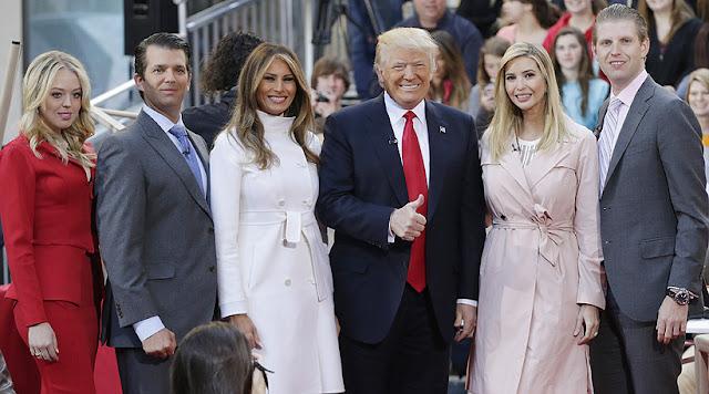 Barron Trump pic, Ivana Trump pics, Melania Trump pics