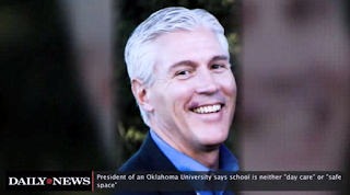 Oklahoma University President: School Is Not A Safe Space