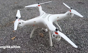 Review Syma X8 PRO Drone GPS Pertama Dari Syma