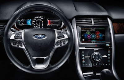 2016 Ford Edge Standard Features