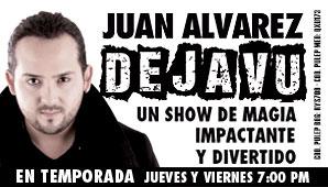 DEJA VÚ  por JUAN ALVAREZ (MAGIA)