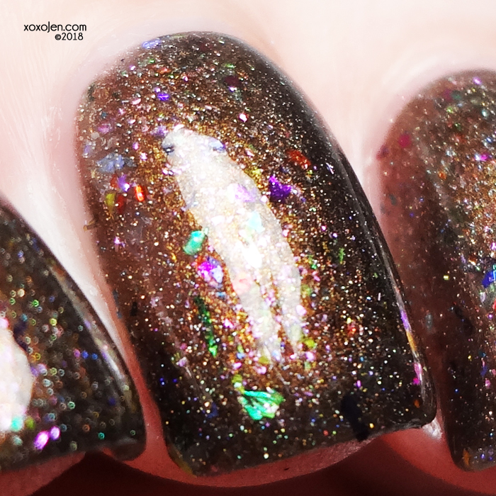 xoxoJen's swatch of Seventy Seven Lacquer My So Called Life