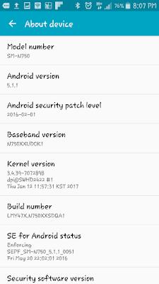 Samsung Galaxy Note 3 Neo Menggunakan Android Lollipop 5.1