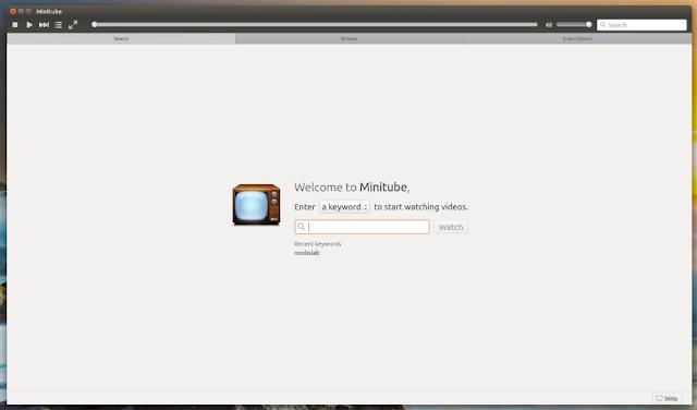 Como instalar o MiniTube no Ubuntu, Linux Mint e derivados!
