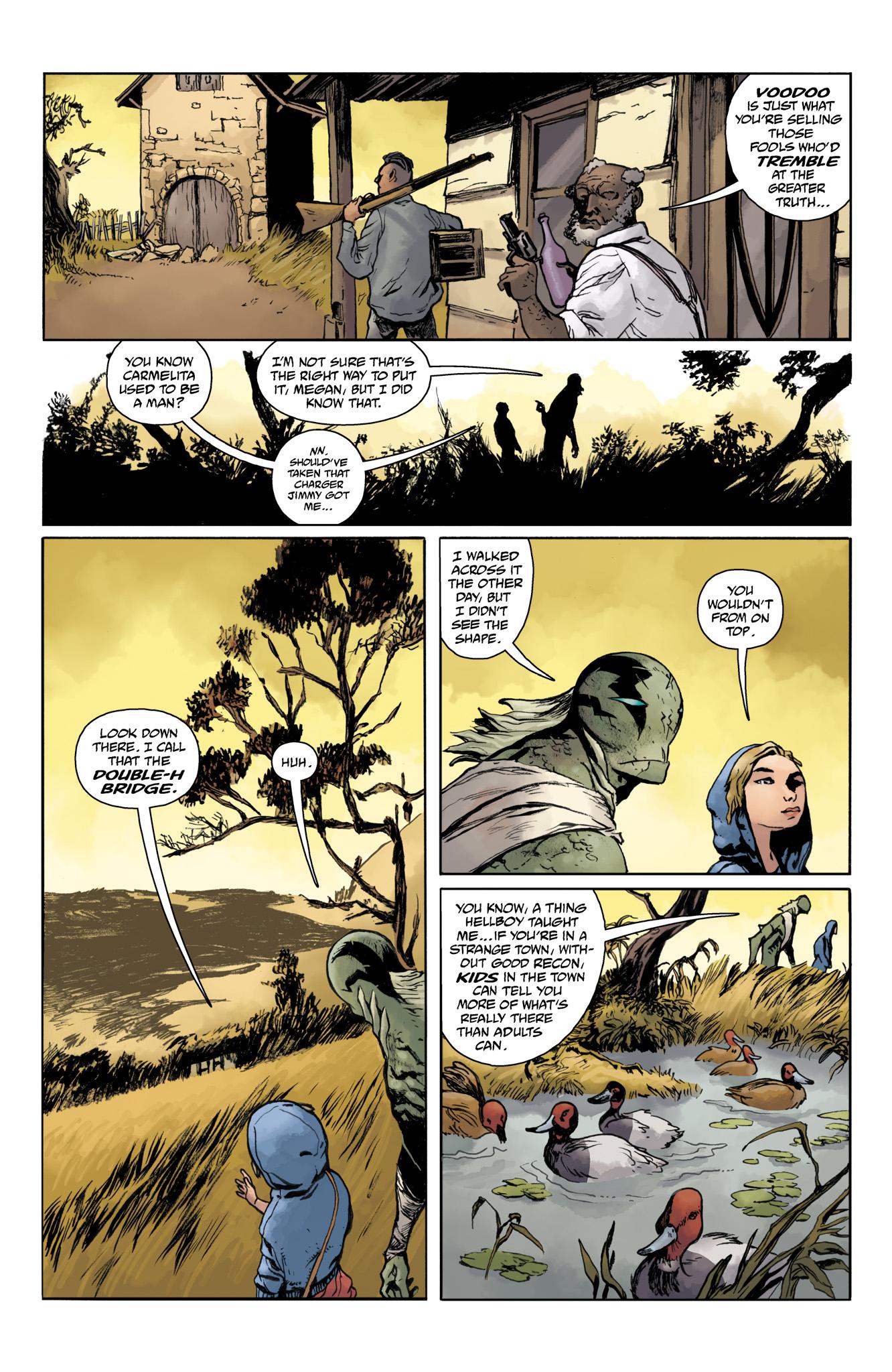 Read online Abe Sapien comic -  Issue #20 - 14