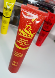 Dr. PawPaw Balm in Tinted Red Sparkle