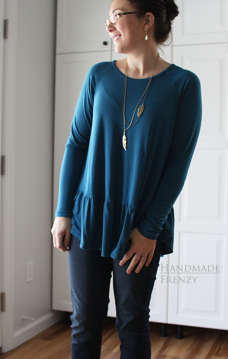 Women's Waterfall Raglan // NEW Pattern Release // Sewing For Women