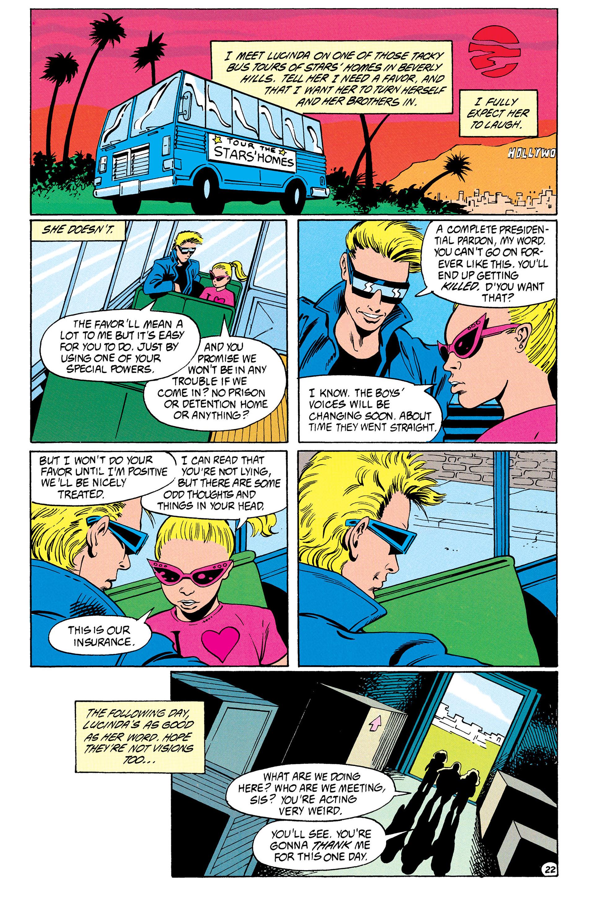 Read online Animal Man (1988) comic -  Issue #31 - 23