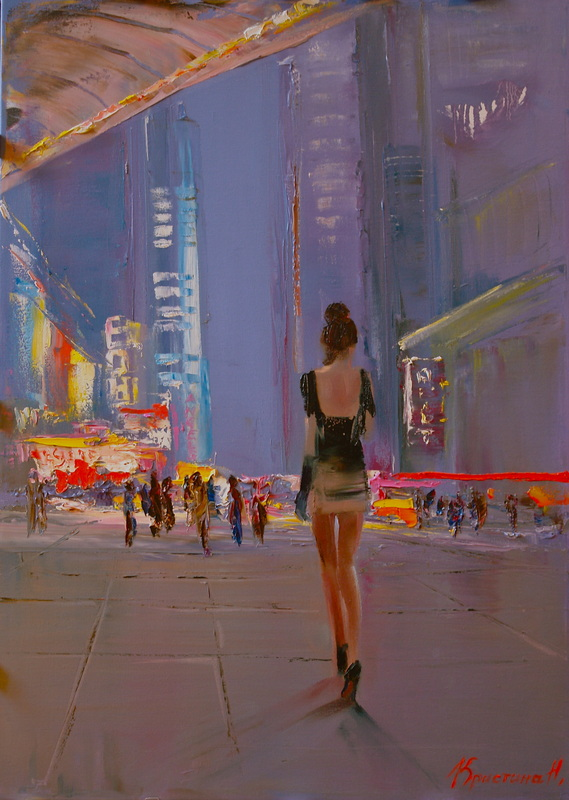 Christina Nguyen e seus impressionismo contemporâneo