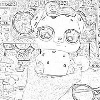 LOL Surprise! dolls coloring pages coloring.filminspector.com