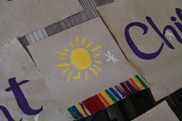 Night Garden Preschool Banner With Kids