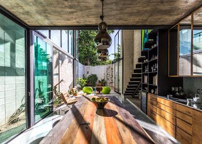 ออกแบบครัว บ้านทาวน์เฮาส์