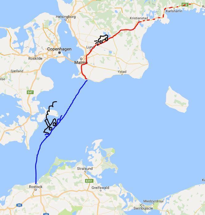 In viaggio verso Rostock