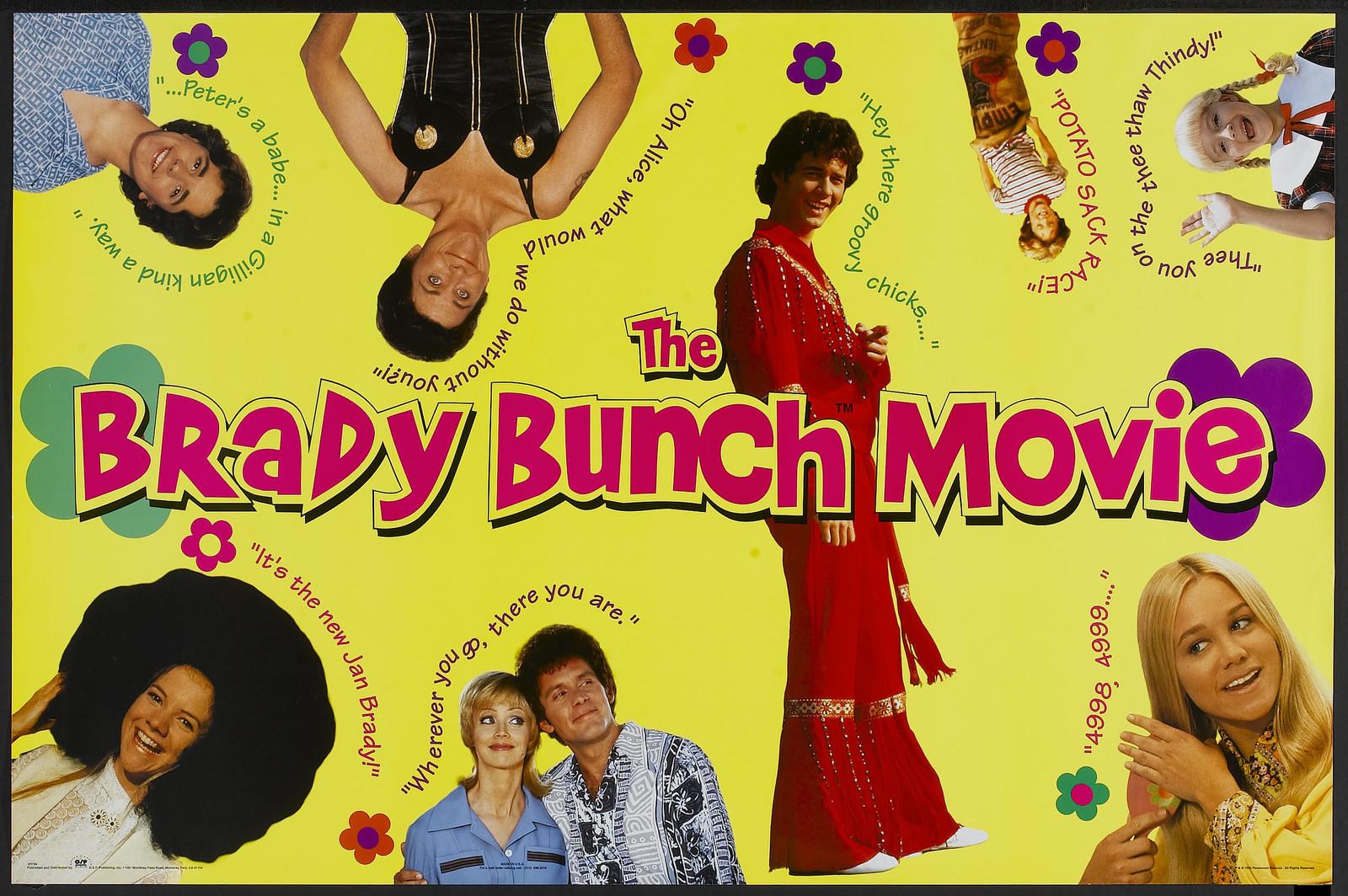 The Brady Bunch Blog: The Brady Bunch Movie B Poster