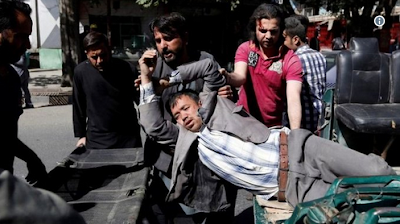 So SAD! 80 Die, 300 Wounded In Car Bomb Blast Near Embassies In Kabul (PHOTOS)