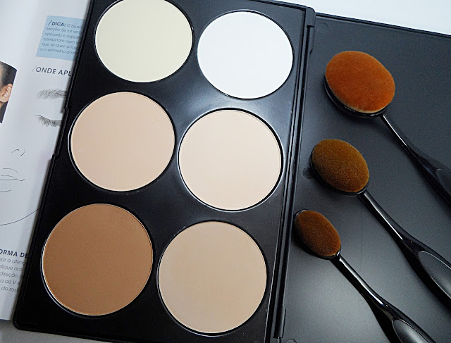 breygel beauty blogger review how to contour face makeup