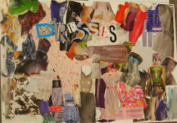 The Final Story Collage, student work