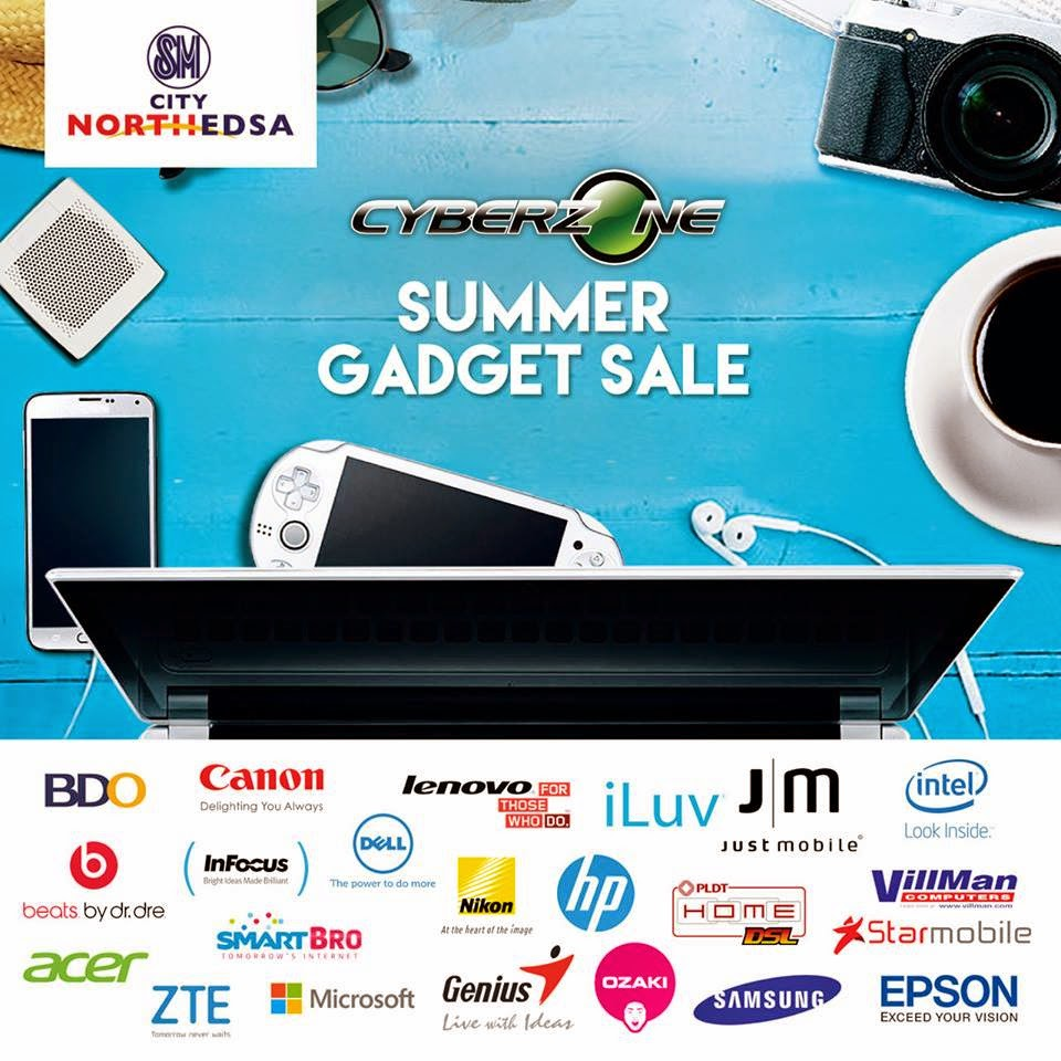 0a9662eb1c SM Cyberzone North Edsa Summer Gadget SALE  Apr-May 2015