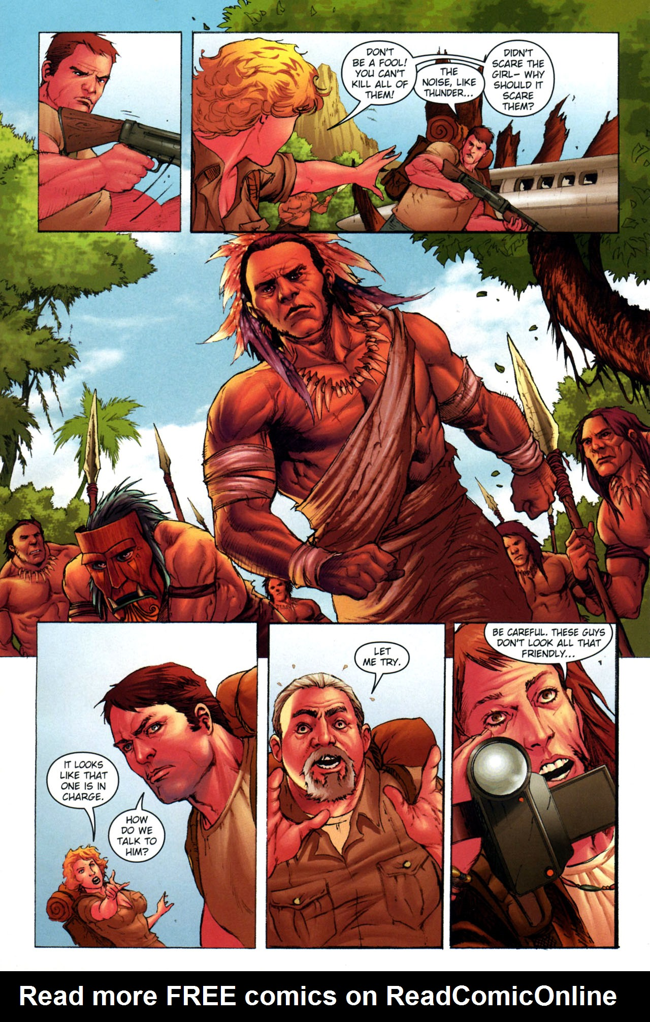 Read online Jungle Girl comic -  Issue #3 - 5