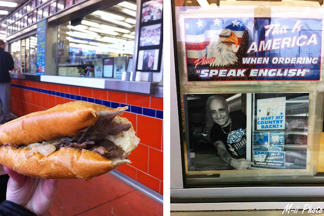 M-ii Photo : Philadelphie, Pennsylvanie - Geno's Steaks
