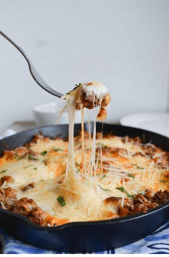 Easy Keto Lasagna Bake | Ditch The Noodles!