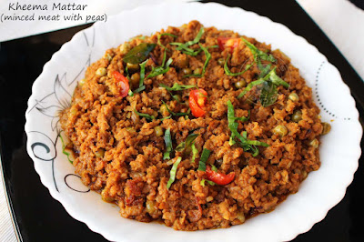 keema matar recipe minced meat with green peas yummy side dish for chapati  dinner recipes