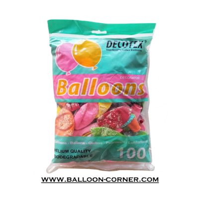 Balon Latex Doff Print HAPPY BIRTHDAY (DECOTEX)