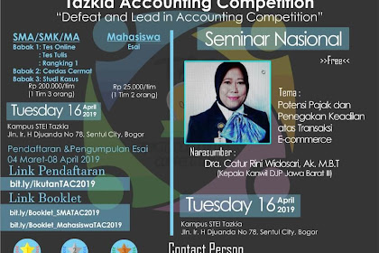 Tazkia Accounting Competition (TAC) 2019