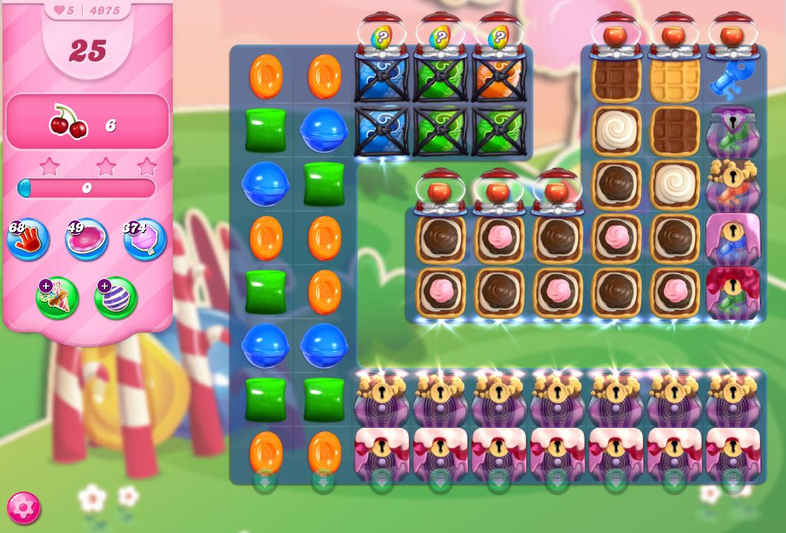 Candy Crush Saga level 4975