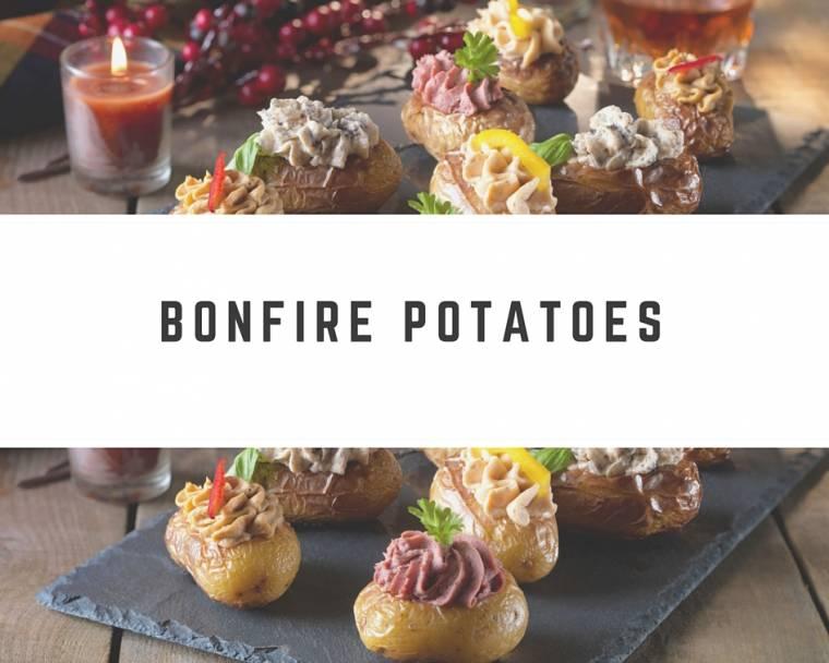 Bonfire Potatoes: Full Of Tasty Toppings Recipe