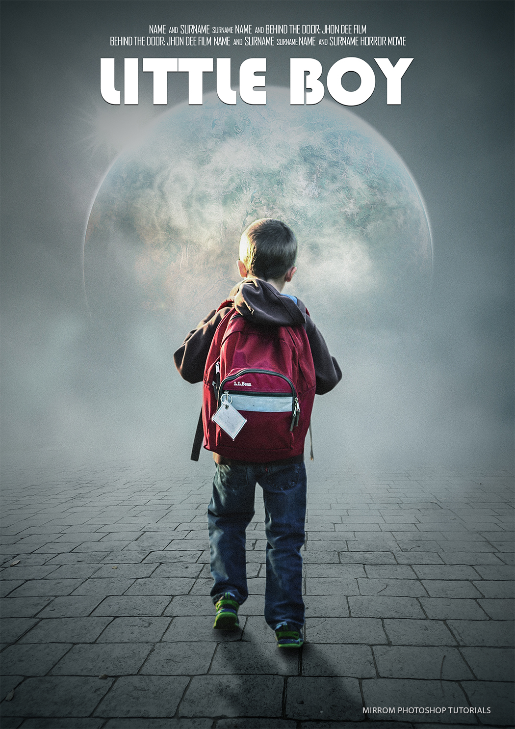 Creating an Little Boy Movie Poster Design In Photoshop