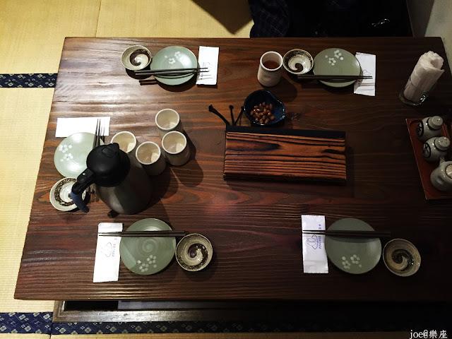 IMG 9636 - 【台中美食】來自日本傳統好滋味的 樂座端爐燒 @日本古早味@新鮮海鮮@新鮮蔬果~