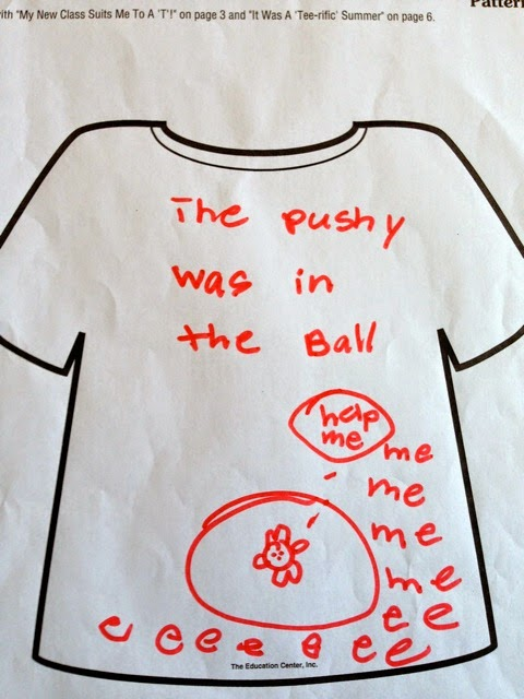 Pushy Shirt Book