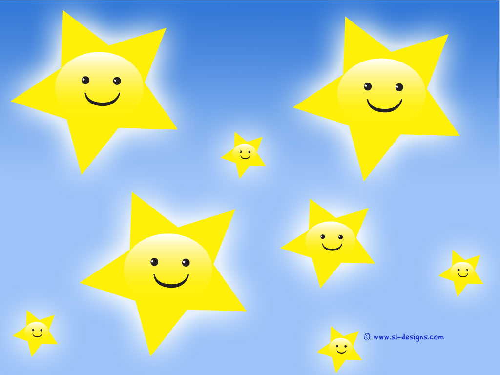 Smiley Face Stars