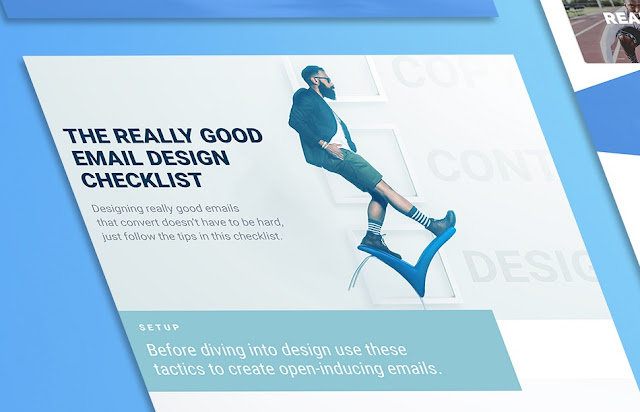 Design a Successful Email with the Really Good Email Checklist (infographic)