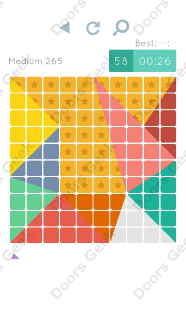 Cheats, Walkthrough for Blocks and Shapes Medium Level 265