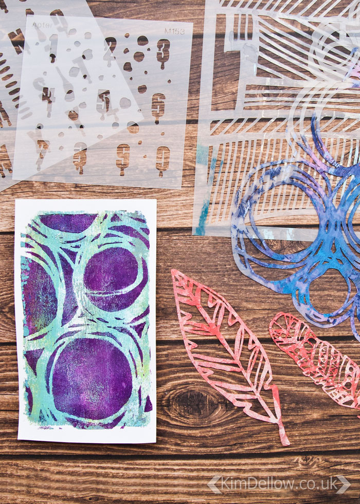 Kim Dellow's Favourite products March 2017: StencilGirl Stencils