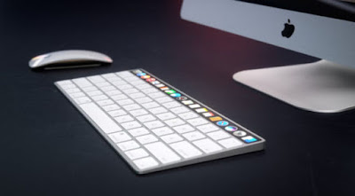 Concept Apple Magic Keyboard with OLED Touch