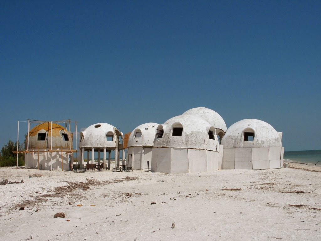 Deserted places the mysterious dome houses in southwest for Build your own house florida
