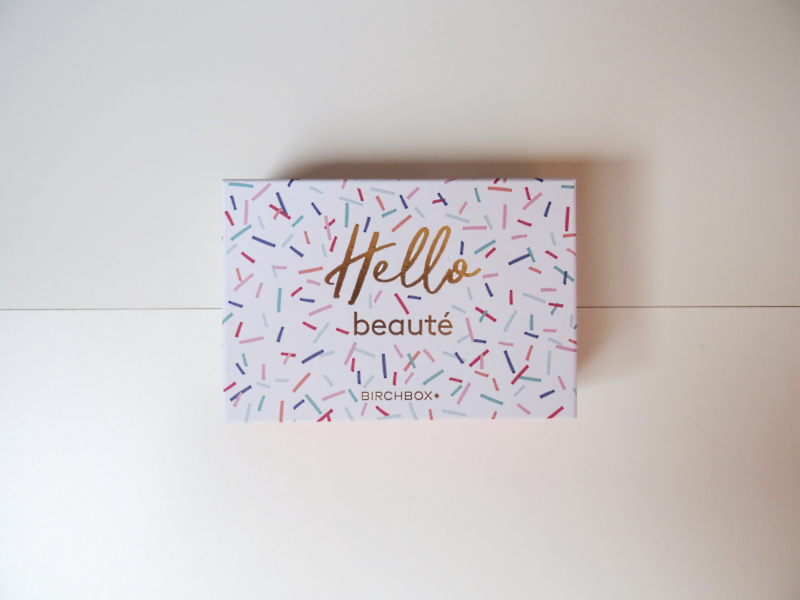 birchbox hello beaute septembre