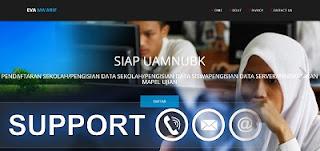 SMK dan Madrasah MA yang bernaung di lingkungan LP Ma Cara Daftar Evaluasi Ma'arif UAMNUBK 2018 di http://www.evamaarif.net/