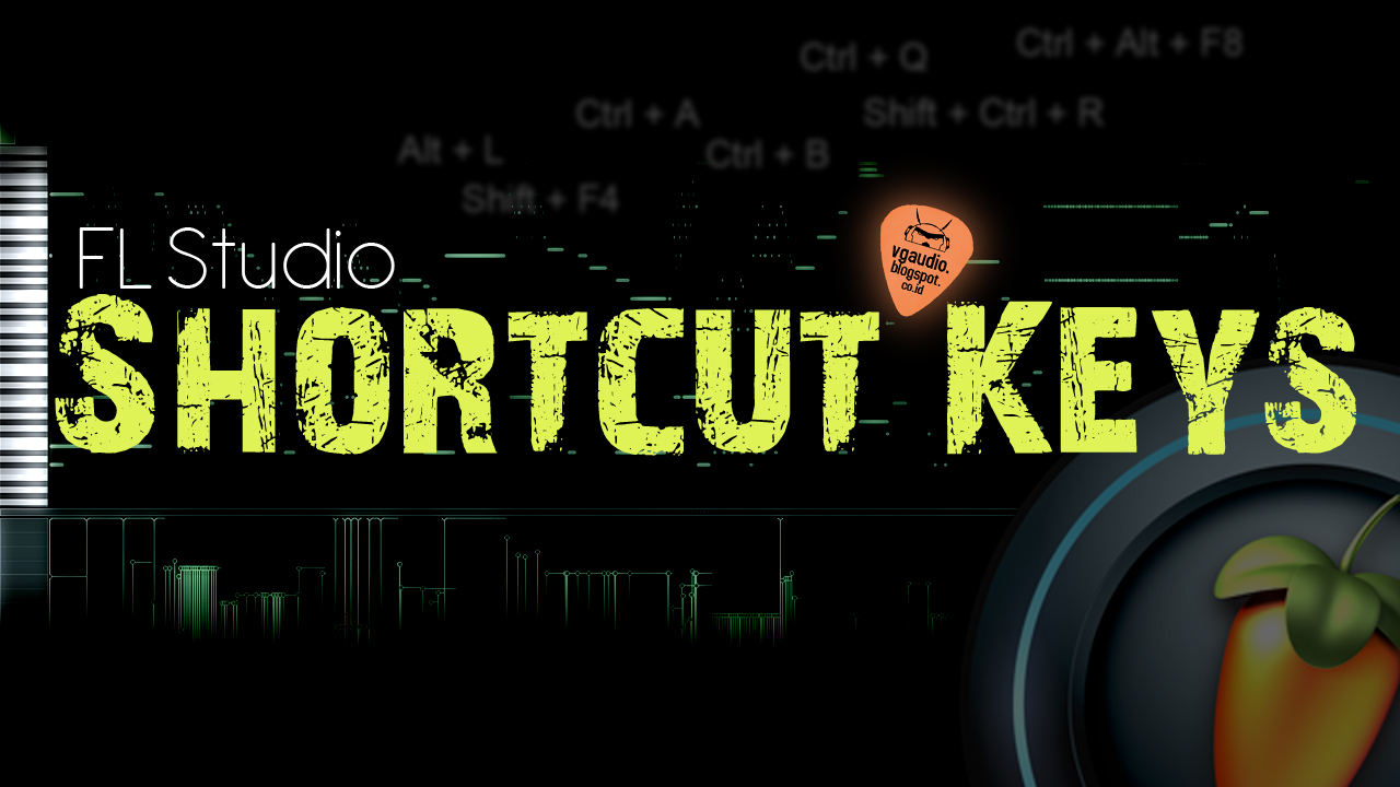 fl studio shortcut keys pdf