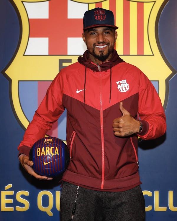 Oficial: FC Barcelona, llega cedido Kevin-Prince Boateng