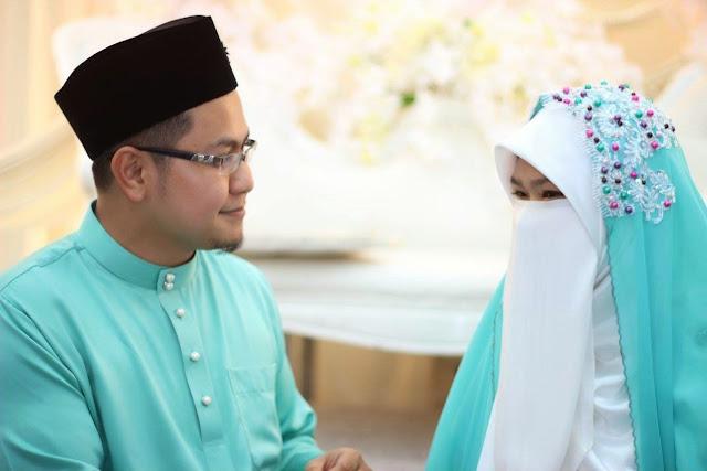 Image result for perkahwinan islamik purdah