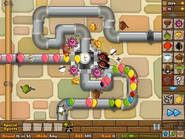 Black And Gold Games: Bloons Tower Defense 5 Unblocked Hacked