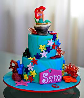 Cherry S Cakes Disney S Ariel