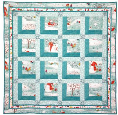 Christmas Attic Window Quilt Pattern.Quilt Inspiration Free Pattern Day Attic Windows Quilts