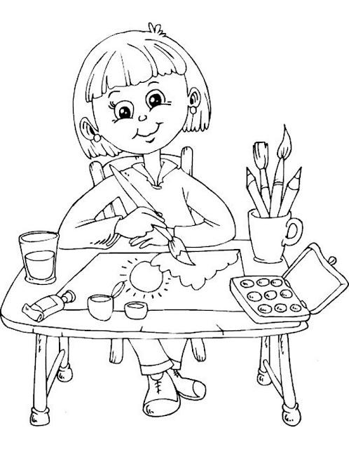 Gambar Mewarnai Anak - 5