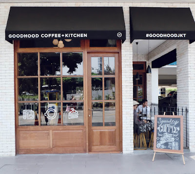 GoodHood Coffee Front Door